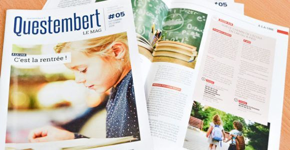 Questembert le mag : bulletin municipal de la Ville de Questembert