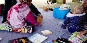 Lectures buissonnières au marché